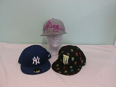 Two  New Era  59Fifty New Era Snapback Caps & Monster Energy Snapback