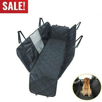 Dog Pet Car Seat Covers Waterproof Mesh Window Car Pet Pad Back Rear Bench Pad