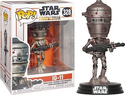 Star Wars The Mandalorian IG-11 Vinyl POP! Figure Toy #328 FUNKO NEW MIB