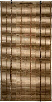 Bamboo Roman Wooden Roll Up Blinds Native Filtering Light Privacy Window Shades