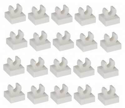 20 NEW LEGO Pearl Gold Tile Modified 1 x 1 with Clip Rounded Edges