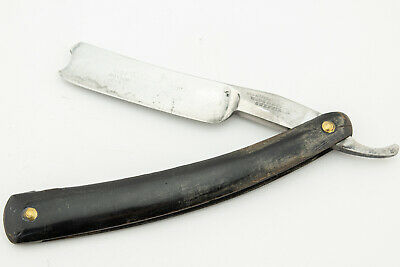 Antique Straight Razor 14/16 Wade & Butcher Wedge Barber's Notch SR1759