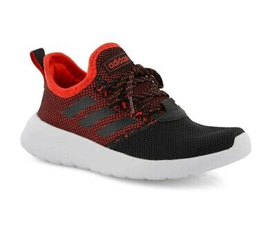 Adidas Lite Racer RBN Black Red Lace Up Slip On Shoes F36783