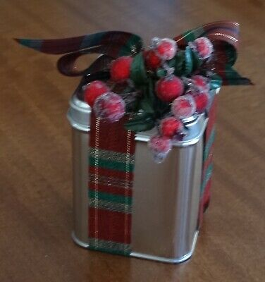 Tins - Silver New perfect for Christmas Gift container, Candle Making etc