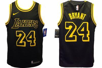 New Kobe Bryant #24 Los Angeles Lakers YOUTH Sizes M-L-XL Nike Swingman Jersey