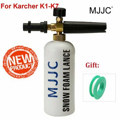MJJC Snow Foam Lance 1L Soap Bottle Sprayer Washers Gun Jet for Karcher K1-K7