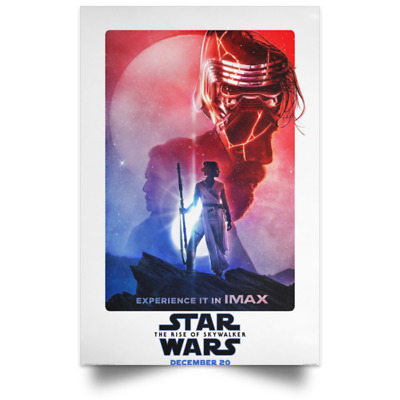 Star Wars The Rise of Skywalker Poster IMAX sizes 16x24 24x36