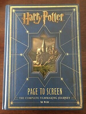 Harry Potter Page to Screen : The Complete Filmmaking Journey by Bob McCabe...