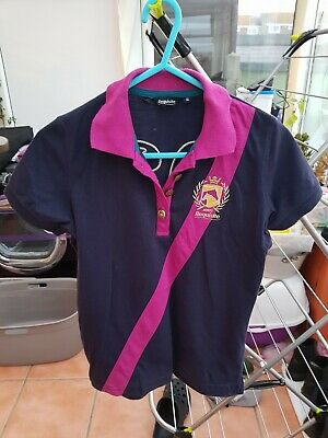 girls requisite polo t-shirt age 13