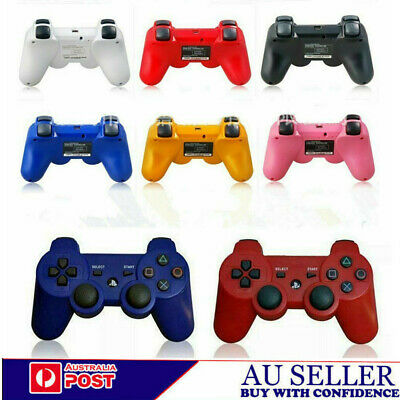 AU Wireless Bluetooth Game Controller Gamepad For PS3 DualShock 3 Playstation 3