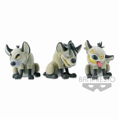 The Lion King - Hyena Fluffy Puffy Figures