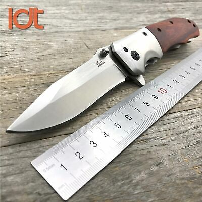 Knife Folding Hunting Pocket Camping Blade Tactical Handle Open Knives Survival