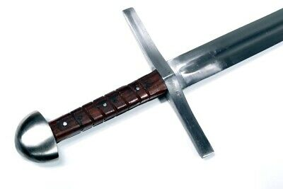 G-223P - G series The Templar Spring Steel Sword - Edged, Pointed Tip