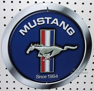 """Nostalgic Ford MUSTANG Since 1964 Pony 12"""" Tin Sign"""