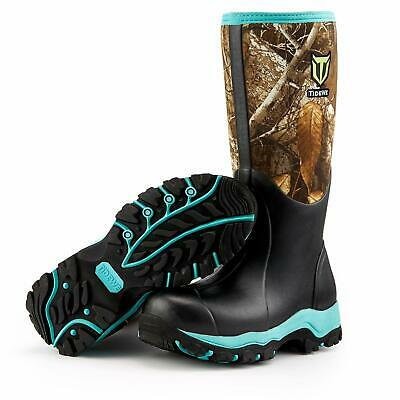 "Tidewe Hunting Boot For Women, Insulated Waterproof Durable 15"" Women'S Hunting"