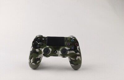 Green Camouflage PS4 DualShock 4 Controller V2 BRAND NEW