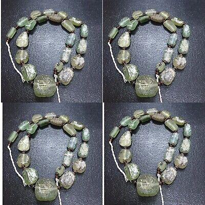 Ancient Roman Glass String Beads Old