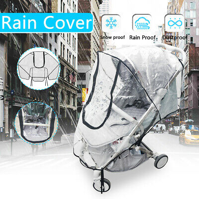 Rain Cover Raincover For Universal Buggy Pushchair Stroller Pram Baby Car