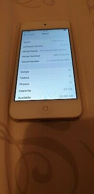 Apple iPod touch 6th Generation Gold (32GB) engraved on back