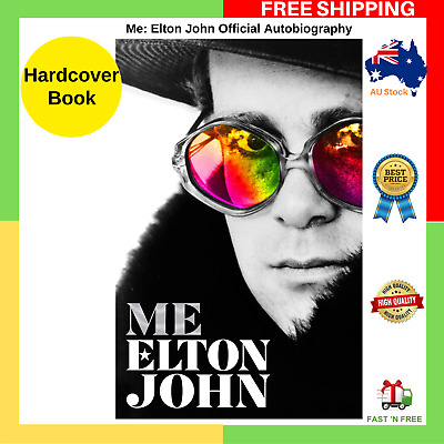 BRAND NEW Me: Elton John Official Autobiography HARDCOVER BOOK FREE SHIPPING AU