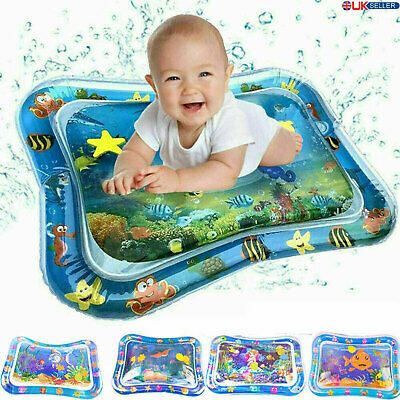 Inflatable Water Mat Fit Baby Infant Toddlers Mattress Splash Playmat Tummy Time