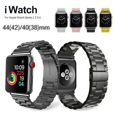 Strap Replacement For Apple Watch Series 5 4 3 2 1 38mm-44mm Bracelet Metal Band