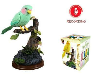 Green Parrot Pink Parrot Electronic Talking Repeating Parrot Recording Function