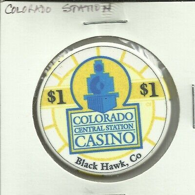 $1 Central Station Casino Chip- Colorado