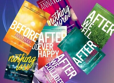 After Complete Set  (1-7) by anna todd [P Ð F ] ✅Fast Delivery