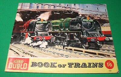 Hornby Dublo Book of Trains from 1959