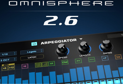 Spectrasonics Omnisphere 2.6 Full Version For Mac and Win Fast Delivery