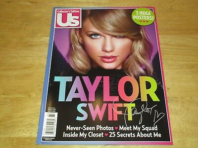 Taylor Swift US Magazine Collector's Edition 2016 72 pages 3 large posters