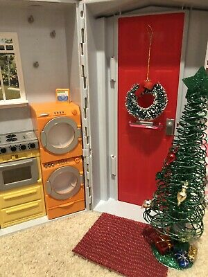 Barbie Totally Real Sounds Doll House~Folding~Customized~Christmas~Holidays
