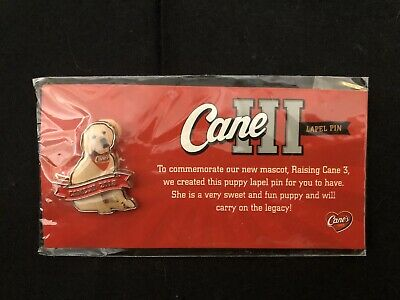 🐶Raising Cane's 2018 Puppy Pin🐶- Free Shipping