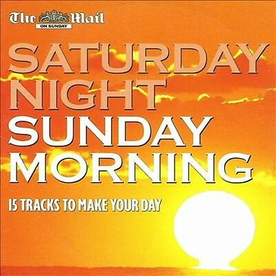 VARIOUS ARTISTS  –  SATURDAY NIGHT SUNDAY MORNING, Daily Mail DOUBLE CD