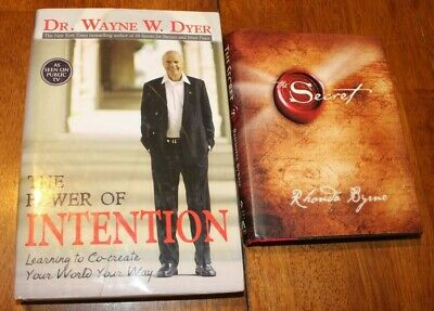 2 Books - The Power of Intention & The Secret - Learning to co-create your world