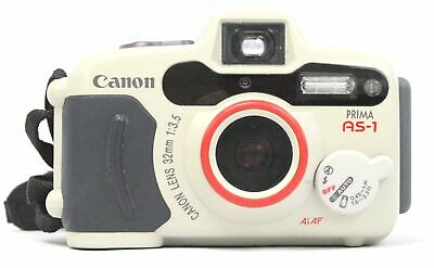 CANON PRIMA AS-1 35mm Camera With Canon 32mm f/3.5 Lens  - F08