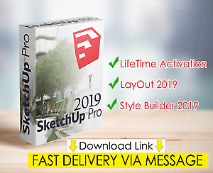 💥 Sketchup Pro 2019 v19 ☑️ Lifetime Activation ☑️ Unlimited Devices ☑️ Win&Mac