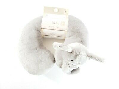 NEW Kelly Baby Elephant Neck Pillow Car Infant Head Support Traveling Comfort