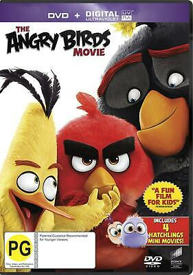 The Angry Birds Movie - DVD Region 4 Free Shipping!