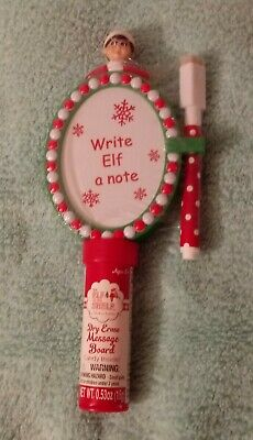 Elf on the Shelf Dry Erase Message Board Christmas candy holder new sealed