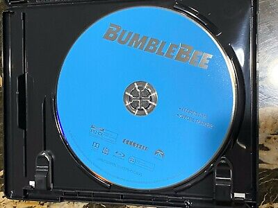 Transformers: Bumblebee (Blu-ray, 2018) Disc Only + regular DVD case