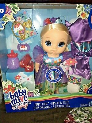Baby Alive Once Upon a Baby: Forest Tales Forest Emma with Blonde Straight...