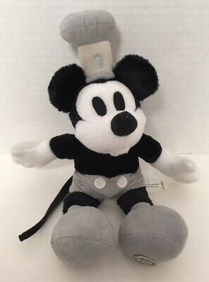 Mickey Mouse STEAMBOAT WILLIE Plush Limited Edition Whistling Mouth Disney D6