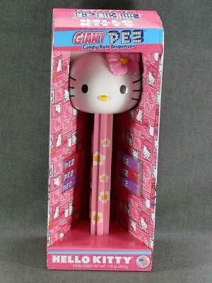 New Hello Kitty Pez Dispenser Large 12'' Sanrio New In Box