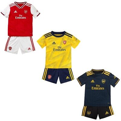 Arsenal 19/20 Home Away Third Kids Mini Football Kit Adults Soccer Jersey