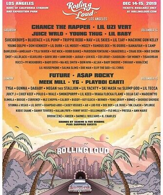 2-Day Vip Rolling Loud Los Angeles Pass
