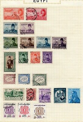 Middle East - Egypt-Turkey-Israel etc - m/u/collection on album pages