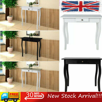 Modern Console Table Side End Hall Table Storage Hallway Furniture With 1 Drawer