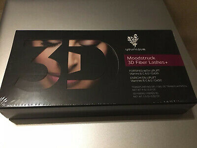 YOUNIQUE MOODSTRUCK 3D FIBER LASHES +  Fortified With Uplift - 6g - 3D Fibres